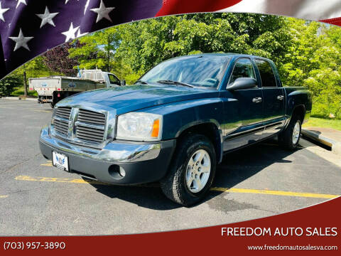 2005 Dodge Dakota for sale at Freedom Auto Sales in Chantilly VA