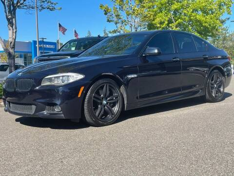 2011 BMW 5 Series for sale at GO AUTO BROKERS in Bellevue WA