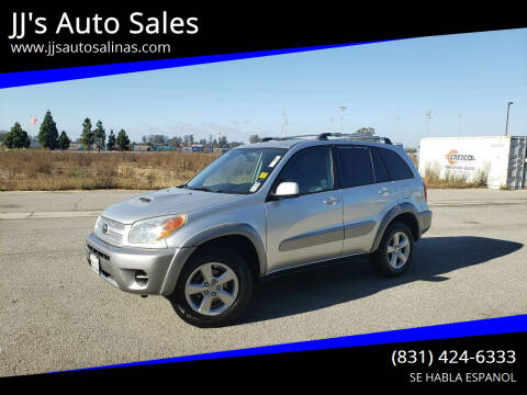 2005 Toyota RAV4 for sale at JJ's Auto Sales in Salinas CA