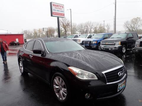 2011 Infiniti M56 for sale at Marty's Auto Sales in Savage MN