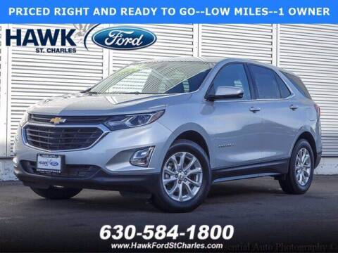2018 Chevrolet Equinox for sale at Hawk Ford of St. Charles in St Charles IL