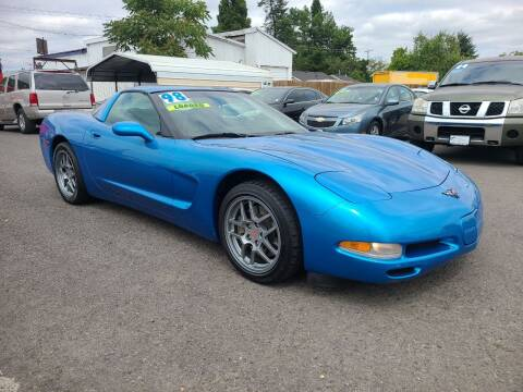1998 Chevrolet Corvette for sale at Universal Auto Sales in Salem OR