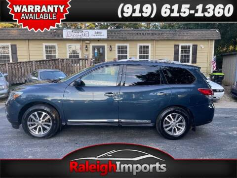 2013 Nissan Pathfinder for sale at Raleigh Imports in Raleigh NC