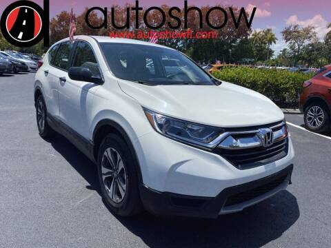2017 Honda CR-V for sale at AUTOSHOW SALES & SERVICE in Plantation FL