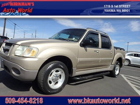 2003 Ford Explorer Sport Trac for sale at Bruce Kirkham Auto World in Yakima WA