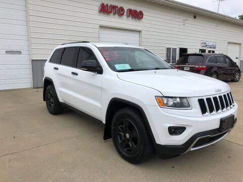 2015 Jeep Grand Cherokee for sale at AUTO PRO in Brookings SD