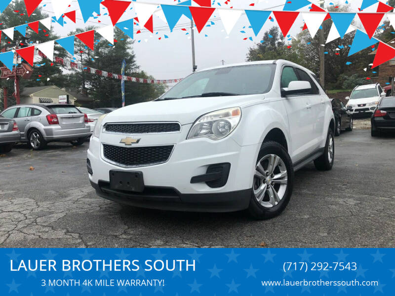2013 Chevrolet Equinox for sale at LAUER BROTHERS SOUTH in York PA