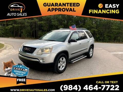 2009 GMC Acadia for sale at Drive 1 Auto Sales in Wake Forest NC