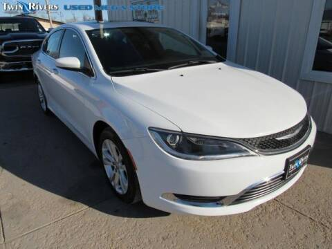 2015 Chrysler 200 for sale at TWIN RIVERS CHRYSLER JEEP DODGE RAM in Beatrice NE