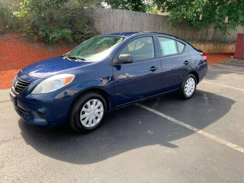 2012 Nissan Versa for sale at MIRACLE AUTO SALES in Cranston RI
