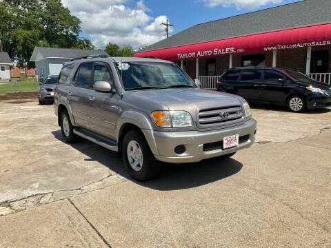 2001 Toyota Sequoia for sale at Taylor Auto Sales Inc in Lyman SC