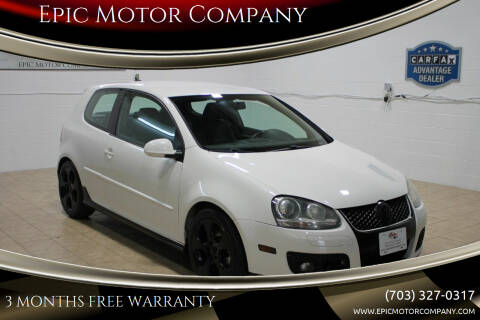 2008 Volkswagen GTI for sale at Epic Motor Company in Chantilly VA