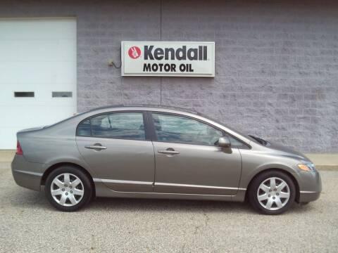 2007 Honda Civic for sale at Keller North Country Motors in Howard City MI