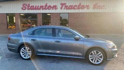 2017 Volkswagen Passat for sale at STAUNTON TRACTOR INC in Staunton VA