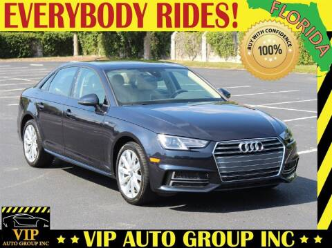2018 Audi A4 for sale at VIP Auto Group in Clearwater FL