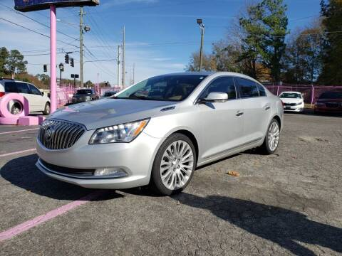 2014 Buick LaCrosse for sale at Fast and Friendly Auto Sales LLC in Decatur GA