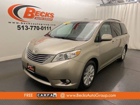 2017 Toyota Sienna for sale at Becks Auto Group in Mason OH