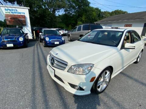 2010 Mercedes-Benz C-Class for sale at Sports & Imports in Pasadena MD
