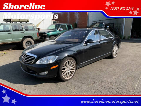 2007 Mercedes-Benz S-Class for sale at Shoreline Motorsports in Waterbury CT