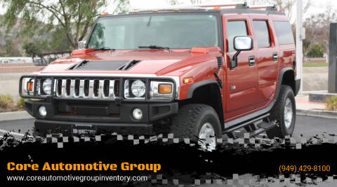 2003 HUMMER H2 for sale at Core Automotive Group - Hummer in San Juan Capistrano CA