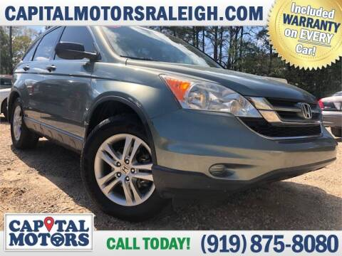 2011 Honda CR-V for sale at Capital Motors in Raleigh NC