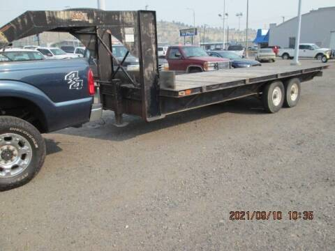 2008 HANOVER gn flatbed for sale at Auto Acres in Billings MT