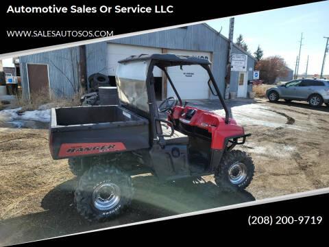 2012 Polaris Ranger for sale at Automotive Sales Or Service LLC in Rexburg ID