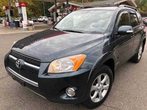 2011 Toyota RAV4 for sale at TOLLAND CITGO AUTO SALES in Tolland CT
