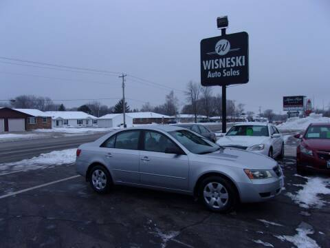 2008 Hyundai Sonata for sale at Wisneski Auto Sales, Inc. in Green Bay WI