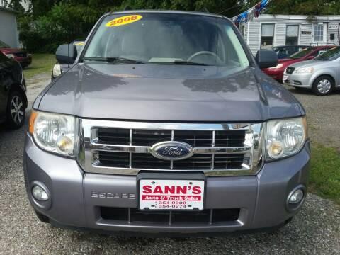 2008 Ford Escape for sale at Sann's Auto Sales in Baltimore MD