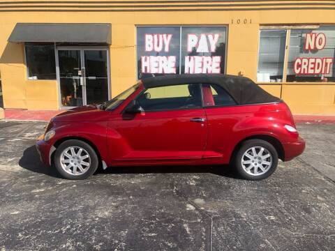 2007 Chrysler PT Cruiser for sale at BSS AUTO SALES INC in Eustis FL