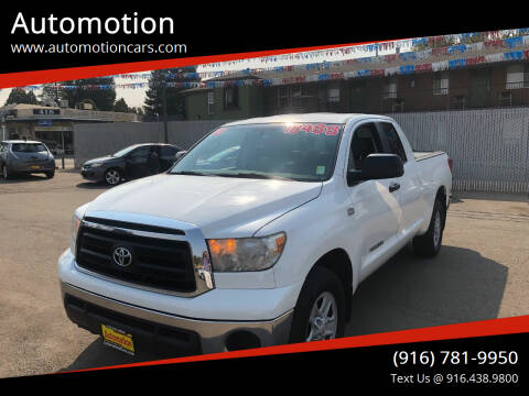 2010 Toyota Tundra for sale at Automotion in Roseville CA