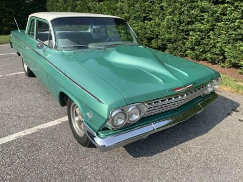 1962 Chevrolet Bel Air for sale at Limitless Garage Inc. in Rockville MD