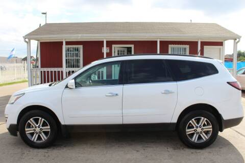 2017 Chevrolet Traverse for sale at AMT AUTO SALES LLC in Houston TX