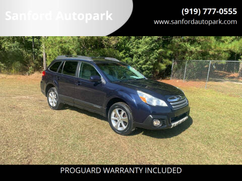 2014 Subaru Outback for sale at Sanford Autopark in Sanford NC