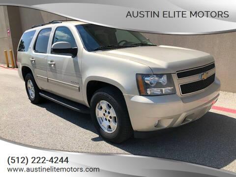 2011 Chevrolet Tahoe for sale at Austin Elite Motors in Austin TX