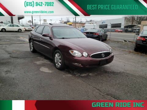 2007 Buick LaCrosse for sale at Green Ride Inc in Nashville TN