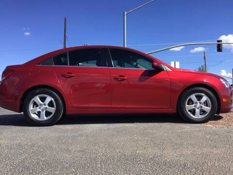 2013 Chevrolet Cruze for sale at SPEND-LESS AUTO in Kingman AZ