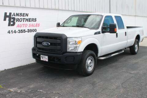 2016 Ford F-250 Super Duty for sale at HANSEN BROTHERS AUTO SALES in Milwaukee WI