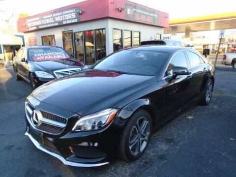 2015 Mercedes-Benz CLS for sale at International Motors in Laurel MD