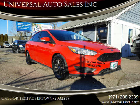 2015 Ford Focus for sale at Universal Auto Sales Inc in Salem OR