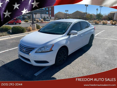 2014 Nissan Sentra for sale at Freedom Auto Sales in Albuquerque NM