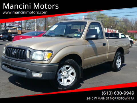 2003 Toyota Tacoma for sale at Mancini Motors in Norristown PA