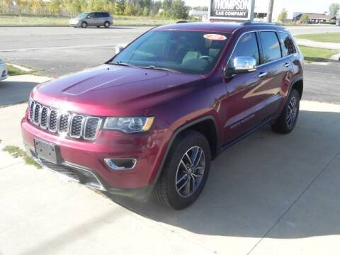 2018 Jeep Grand Cherokee for sale at Thompson Car Company in Bad Axe MI