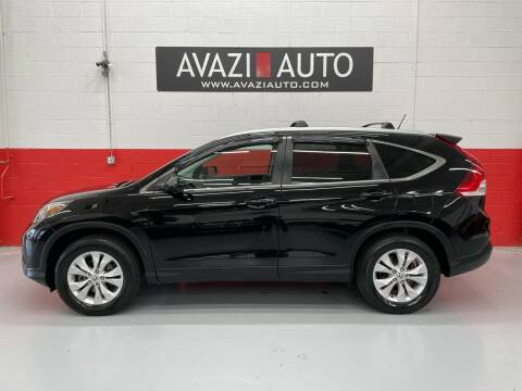 2014 Honda CR-V for sale at AVAZI AUTO GROUP LLC in Gaithersburg MD