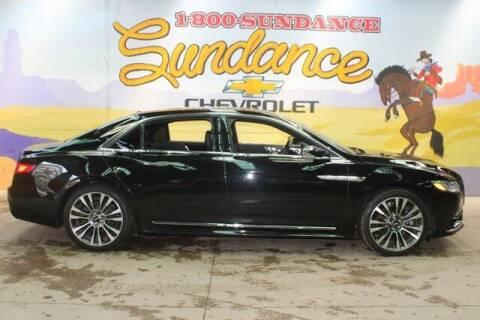 2017 Lincoln Continental for sale at Sundance Chevrolet in Grand Ledge MI