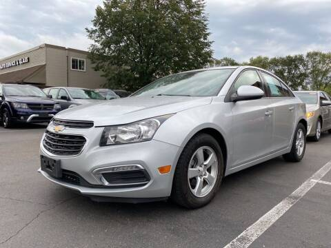 2016 Chevrolet Cruze Limited for sale at MIDWEST CAR SEARCH in Fridley MN