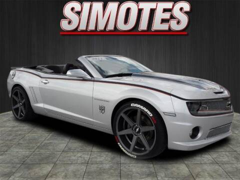 2011 Chevrolet Camaro for sale at SIMOTES MOTORS in Minooka IL