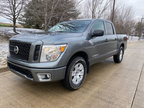 2017 Nissan Titan for sale at Western Star Auto Sales in Chicago IL