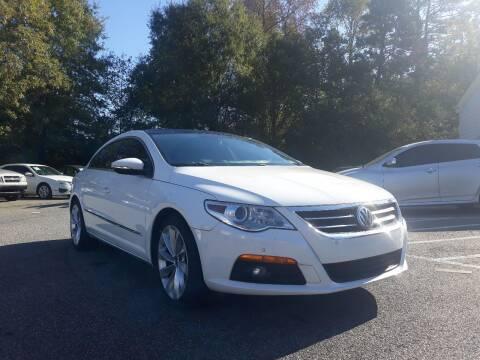 2010 Volkswagen CC for sale at Select Luxury Motors in Cumming GA